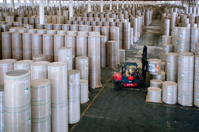 Đẩy mạnh sản xuất giấy bao bì cao cấp